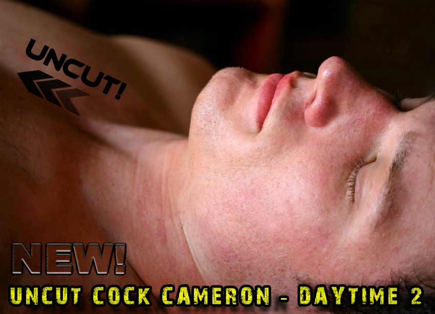 Uncut Men Sleeping Naked